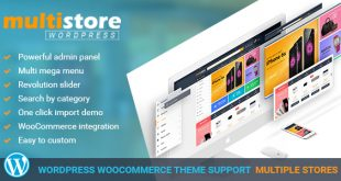 Woocommerce multi vendor theme banner