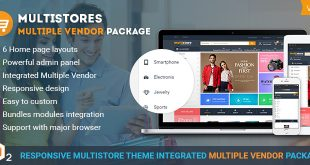 Magento multi vendor theme packge